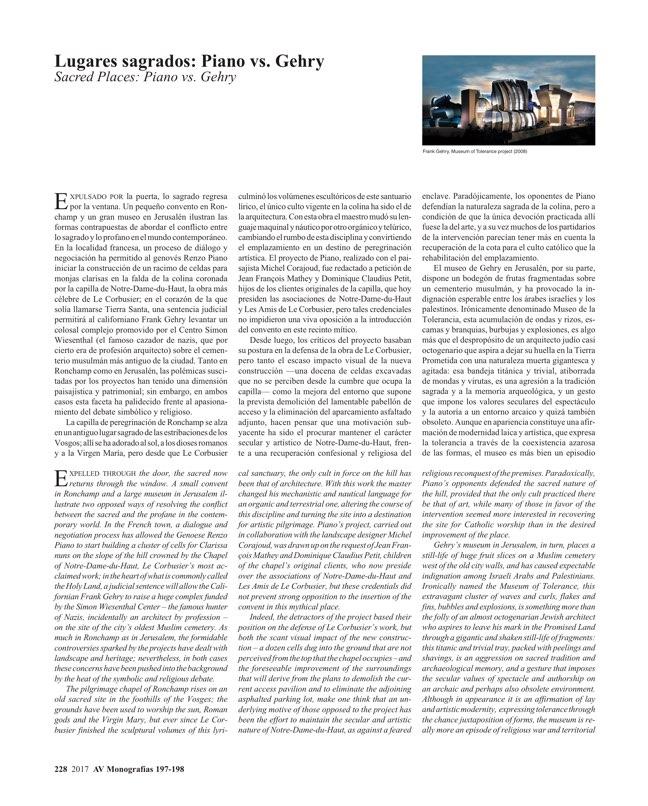 AV Monografias 197_198 RENZO PIANO - Preview 25