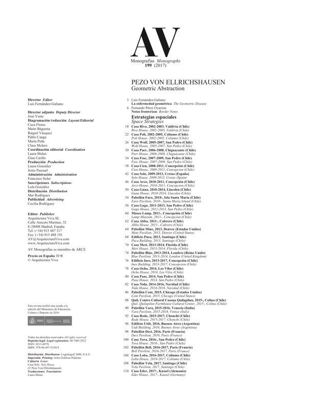 AV Monografias 199 PEZO VON ELLRICHSHAUSEN - Preview 1