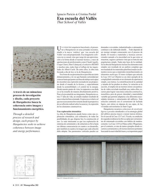 AV Monografias 202 H ARQUITECTES - Preview 3