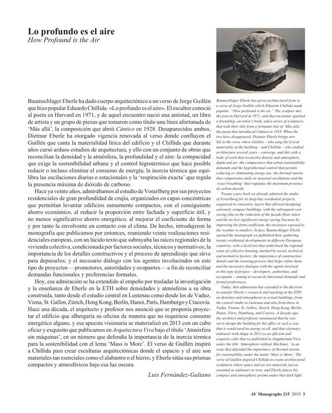 AV Monografias 215 Baumschlager Eberle - Preview 2