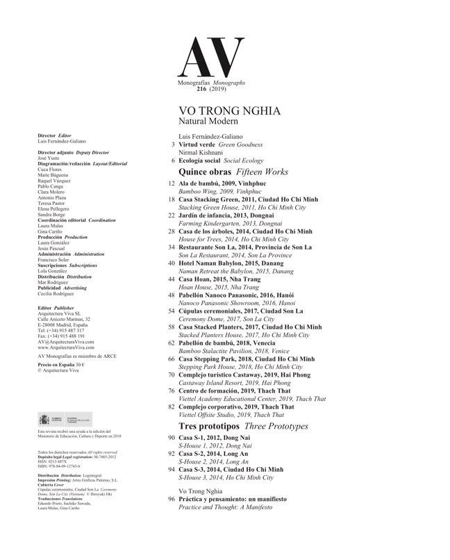 AV Monografias 216 VO TRONG NGHIA - Preview 1