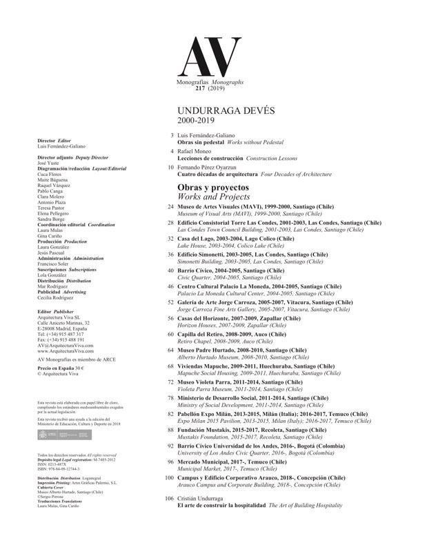 AV Monografias 217 UNDURRAGA DEVÉS - Preview 1