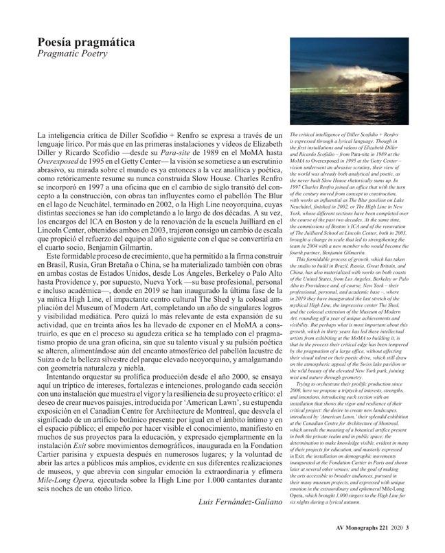 AV Monografías 221 DILLER SCOFIDIO + RENFRO - Preview 2