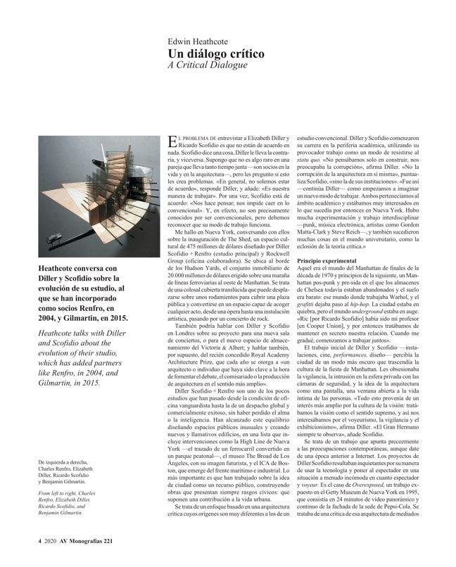 AV Monografías 221 DILLER SCOFIDIO + RENFRO - Preview 3