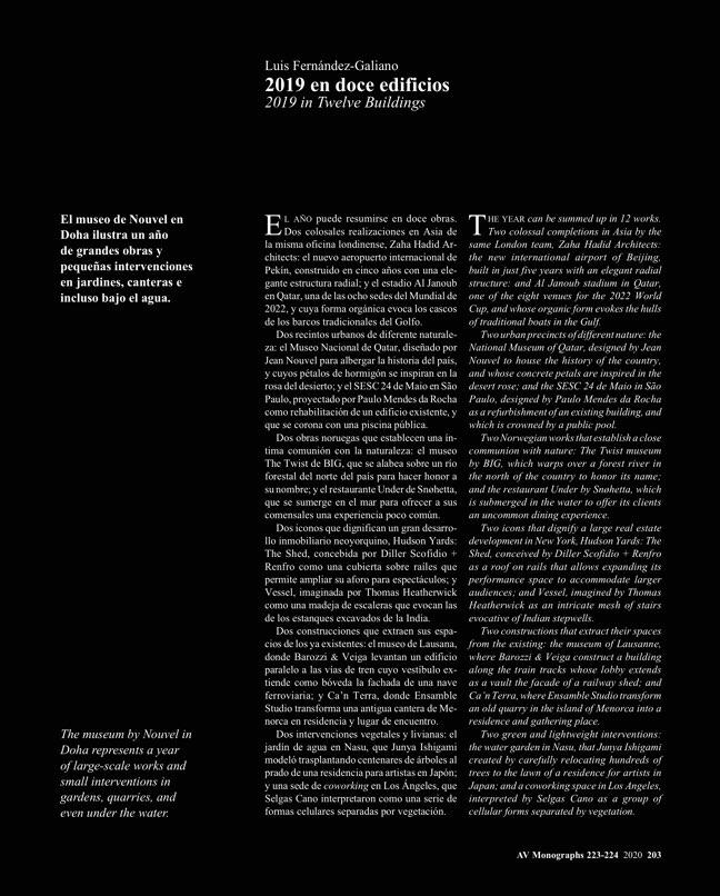 AV Monografias 223_224 2020 Spain YearBook - Preview 33