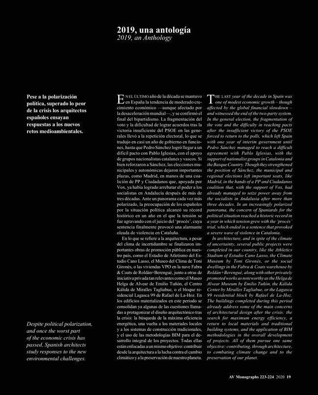 AV Monografias 223_224 2020 Spain YearBook - Preview 7