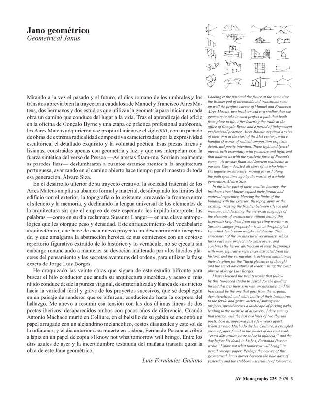 AV Monografias 225 AIRES MATEUS - Preview 2