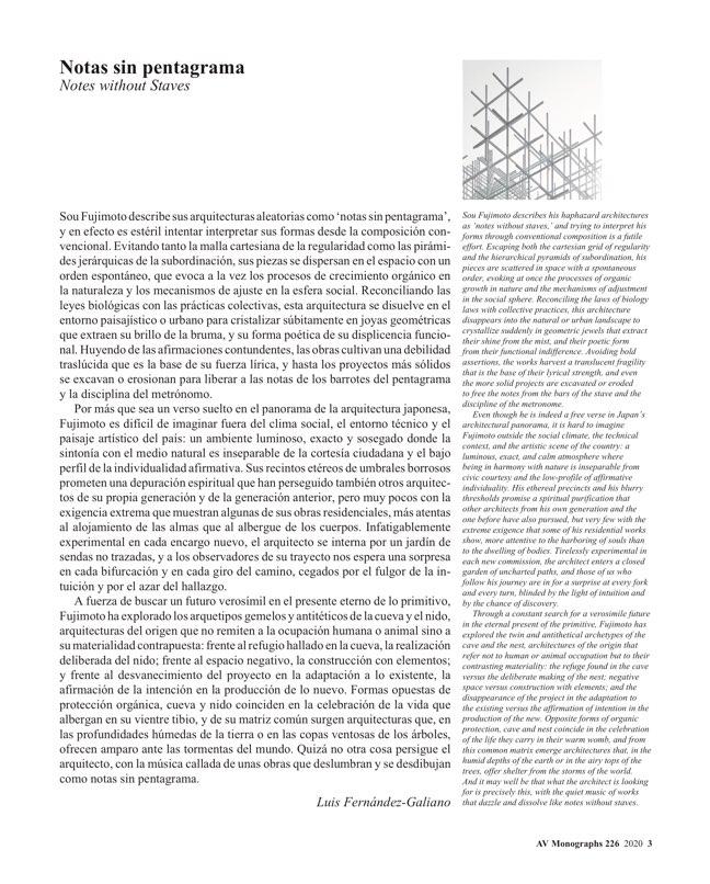 AV Monografías 226 SOU FUJIMOTO - Preview 2