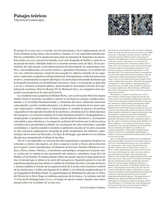 AV Monografías 91 PRAGMATISMO Y PAISAJE / Pragmatism and Landscape - Preview 2