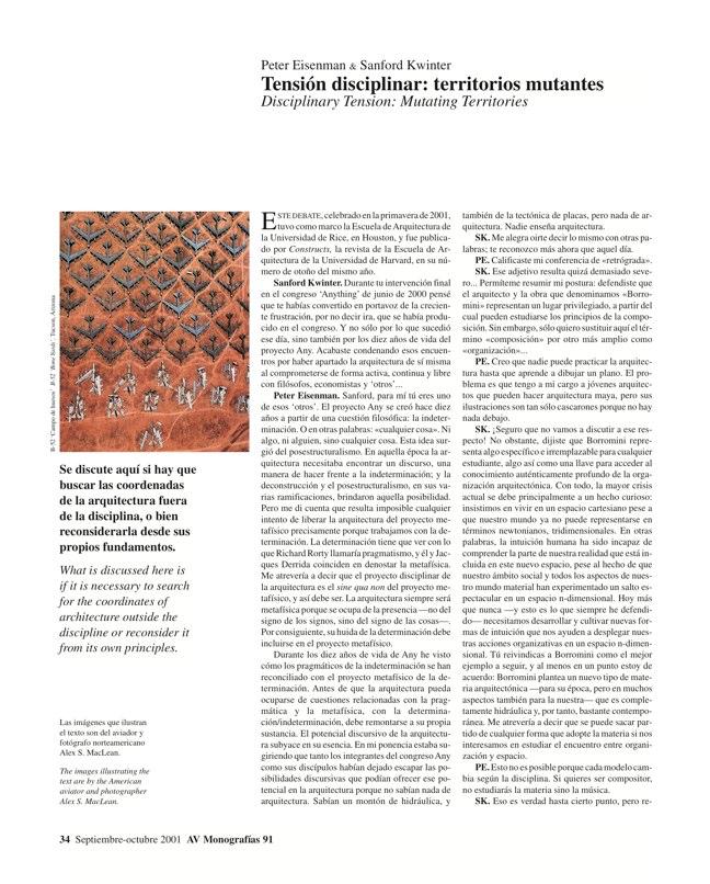 AV Monografías 91 PRAGMATISMO Y PAISAJE / Pragmatism and Landscape - Preview 7