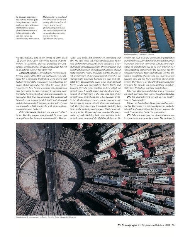 AV Monografías 91 PRAGMATISMO Y PAISAJE / Pragmatism and Landscape - Preview 8