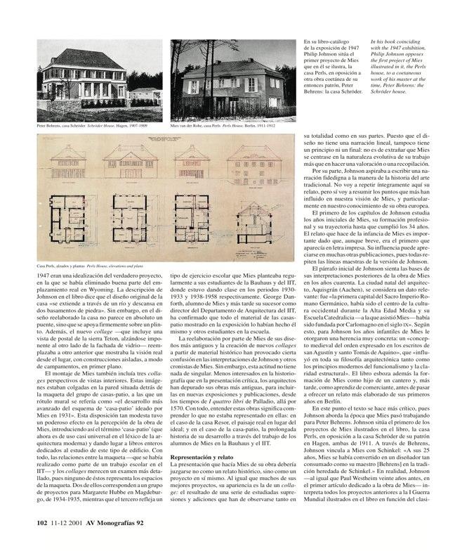 AV Monografías 92 MIES VAN DER ROHE - Preview 3
