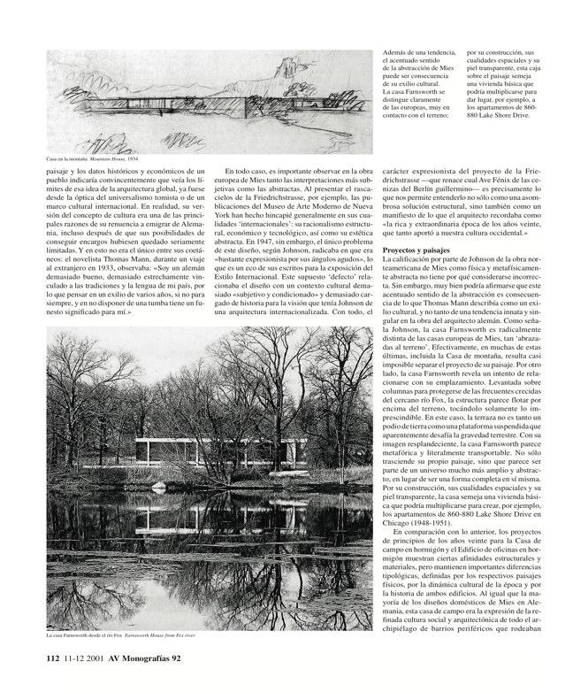 AV Monografías 92 MIES VAN DER ROHE - Preview 4
