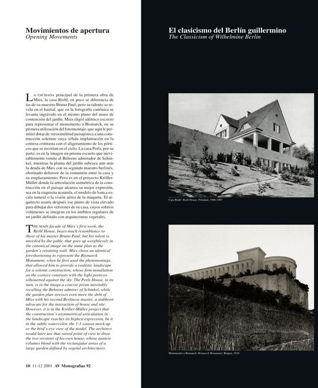 AV Monografías 92 MIES VAN DER ROHE - Preview 5