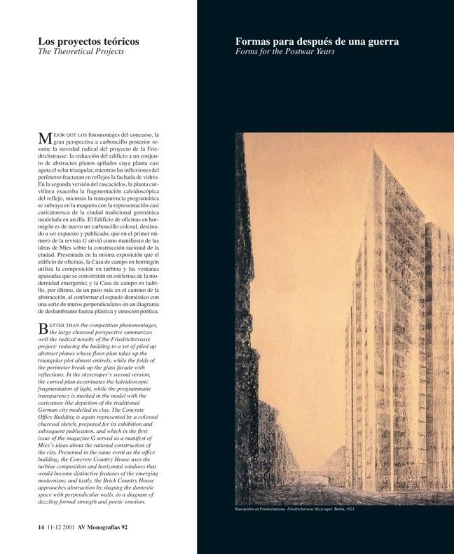 AV Monografías 92 MIES VAN DER ROHE - Preview 7