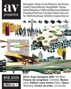 AV Proyectos 012 ZH2O: EXPO ZARAGOZA