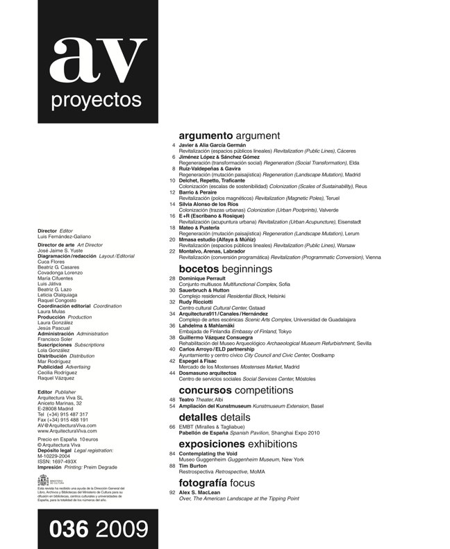 AV Proyectos 036 I EUROPAN 10 - Preview 1