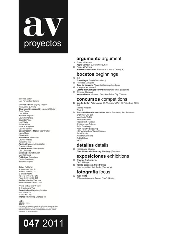 AV Proyectos 047 DOSSIER FOSTER - Preview 1