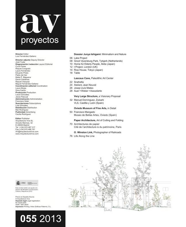 AV Proyectos 055 Dossier Junya Ishigami - Preview 1