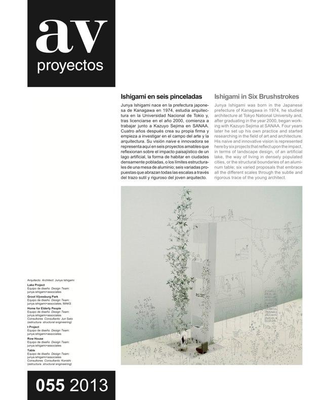 AV Proyectos 055 Dossier Junya Ishigami - Preview 4