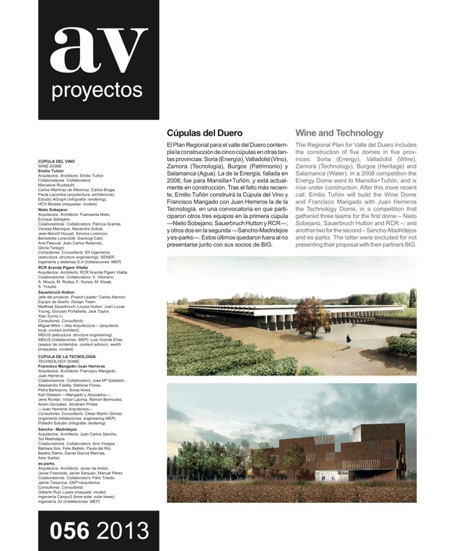 AV Proyectos 056 Duero Domes, Wine and Technology - Preview 3