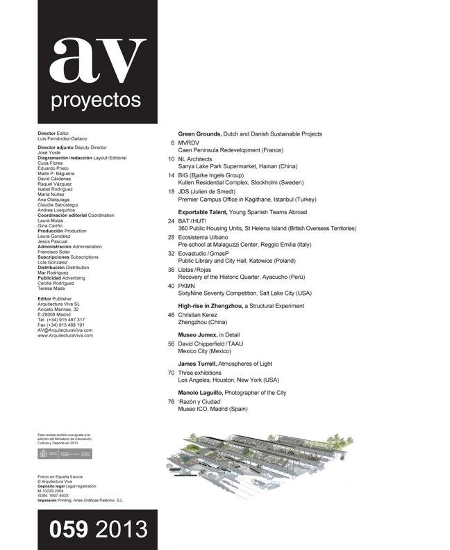 AV Proyectos 059 Green Grounds. MVRDV + NL + BIG + JDS - Preview 1
