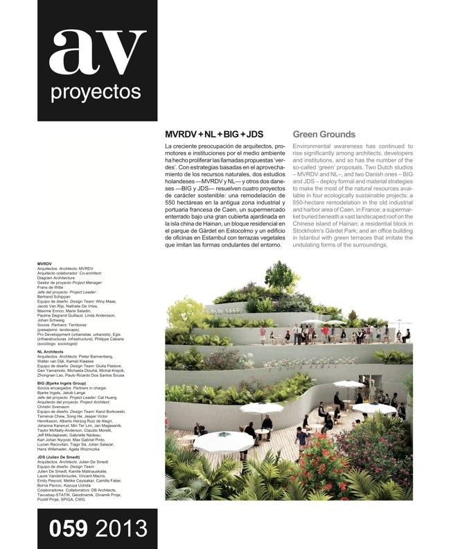 AV Proyectos 059 Green Grounds. MVRDV + NL + BIG + JDS - Preview 2