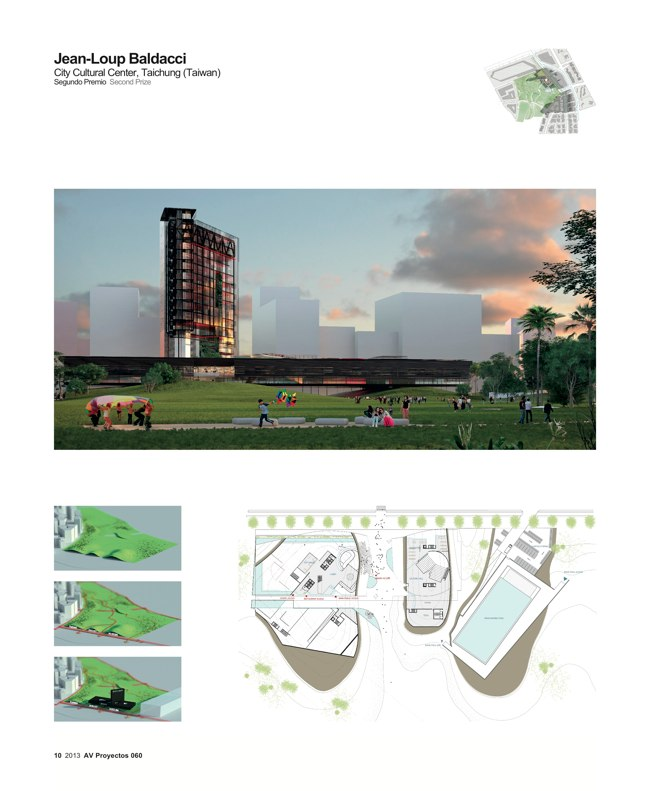 AV Proyectos 060 SANAA in Taiwan I Taichung City Cultural Center Competition - Preview 4