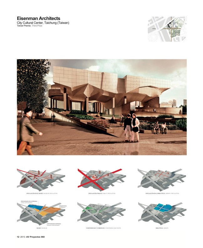 AV Proyectos 060 SANAA in Taiwan I Taichung City Cultural Center Competition - Preview 5