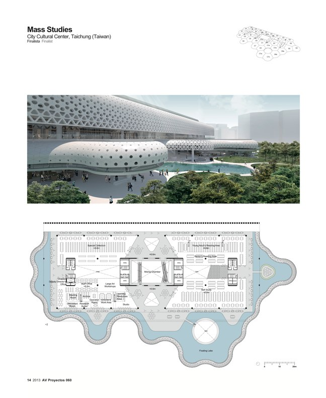AV Proyectos 060 SANAA in Taiwan I Taichung City Cultural Center Competition - Preview 6