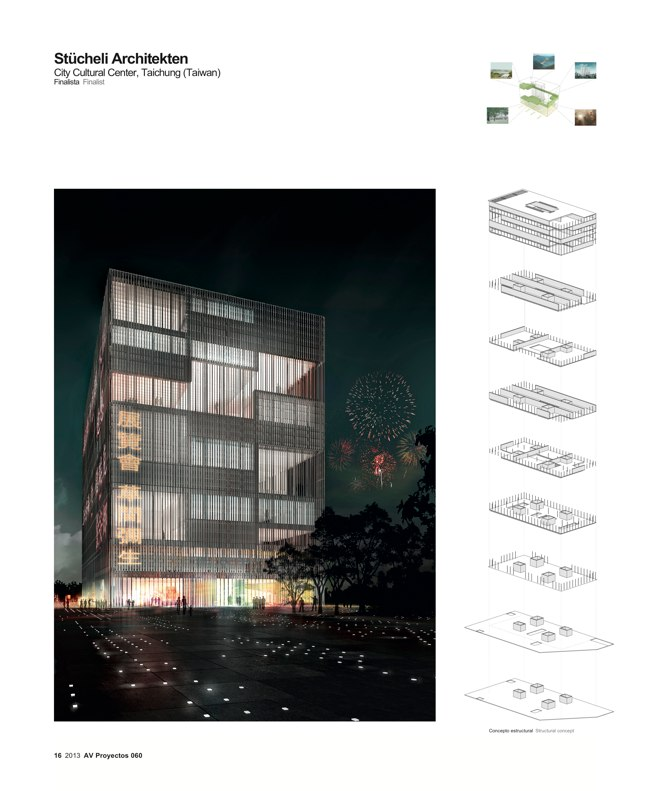 AV Proyectos 060 SANAA in Taiwan I Taichung City Cultural Center Competition - Preview 7