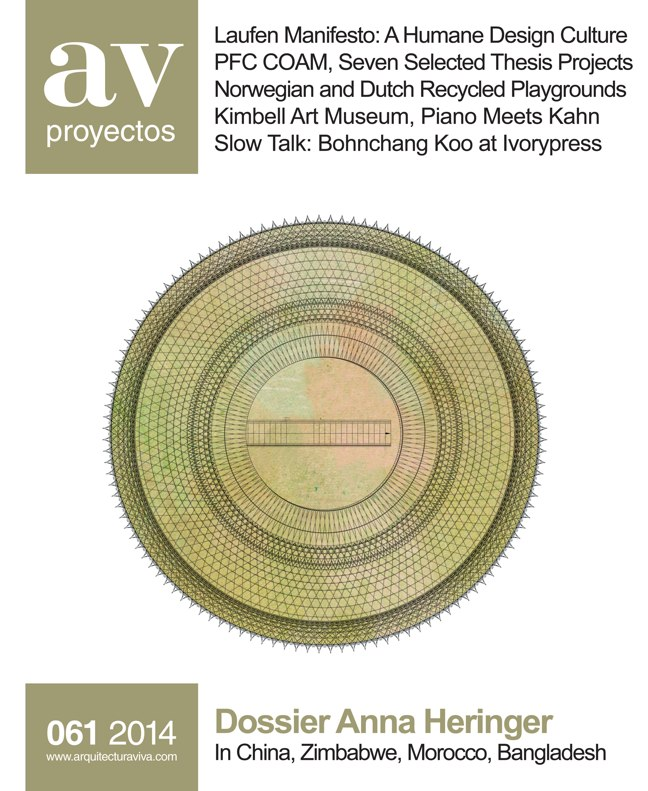 AV Proyectos 061 Dossier Anna Heringer