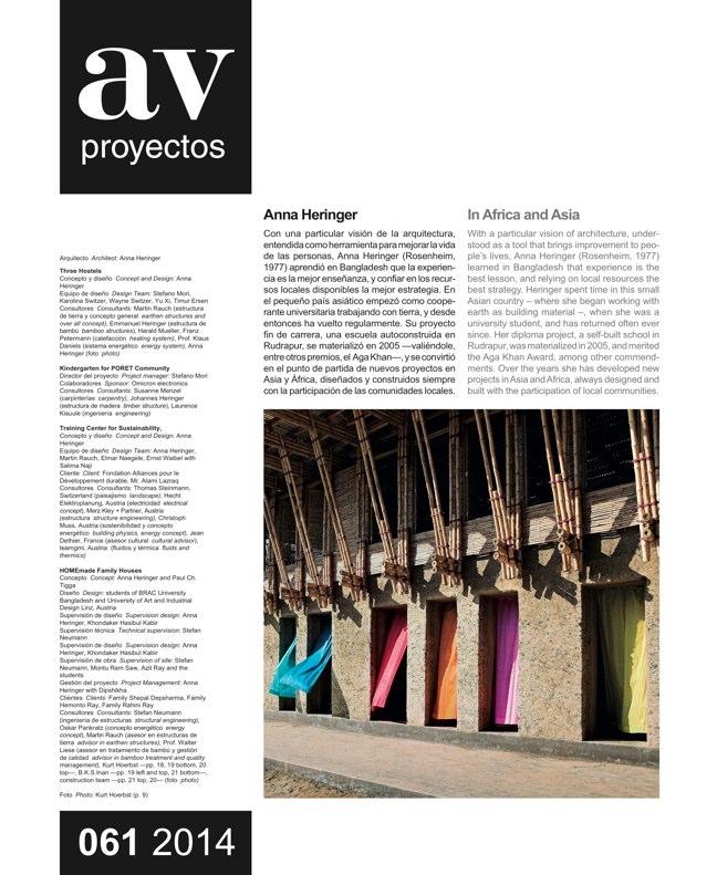 AV Proyectos 061 Dossier Anna Heringer - Preview 3