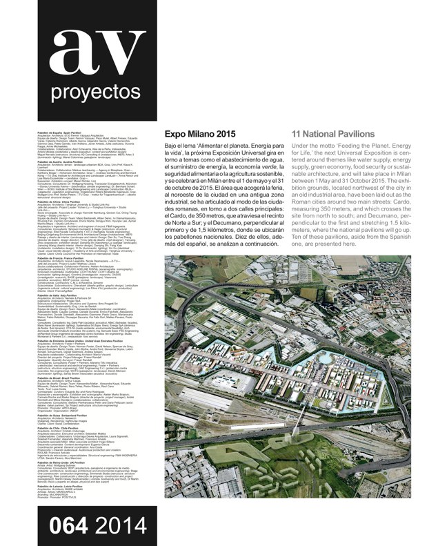 AV Proyectos 064 Expo Milano 2015 - Preview 2