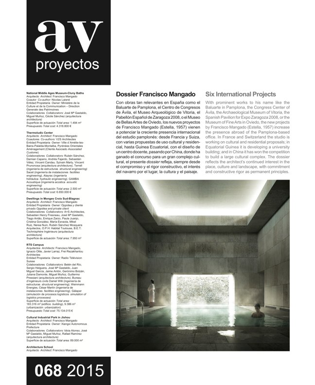 AV Proyectos 068 DOSSIER FRANCISCO MANGADO - Preview 2
