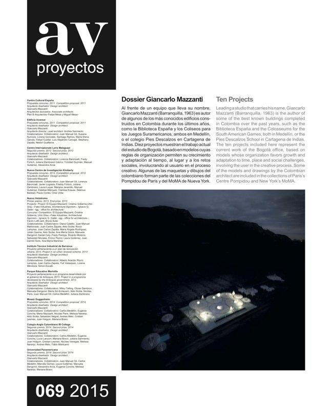 AV Proyectos 069 DOSSIER GIANCARLO MAZZANTI - Preview 2