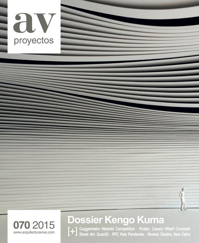 AV Proyectos 070 Dossier Kengo Kuma