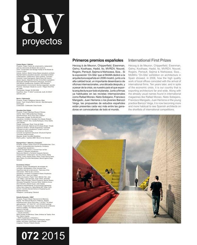AV Proyectos 072 STEVEN HOLL - Preview 9