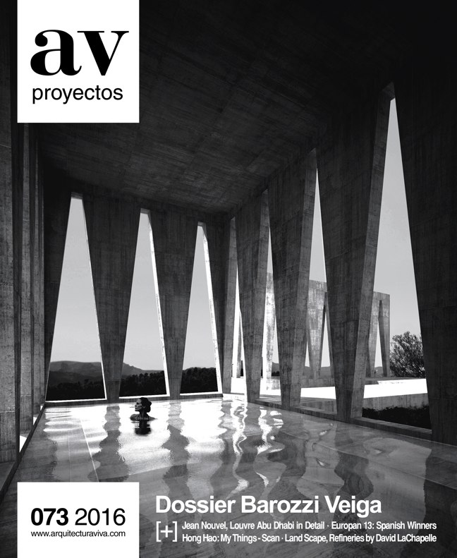 AV Proyectos 073 Dossier Barozzi Veiga