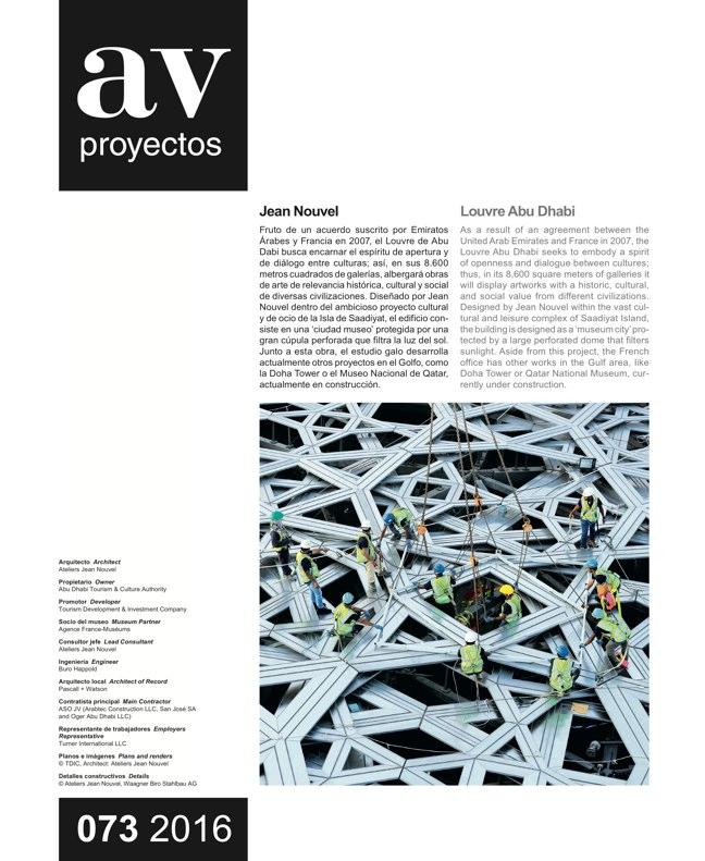 AV Proyectos 073 Dossier Barozzi Veiga - Preview 11