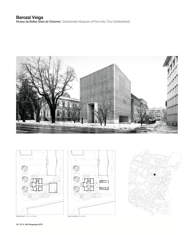 AV Proyectos 073 Dossier Barozzi Veiga - Preview 3
