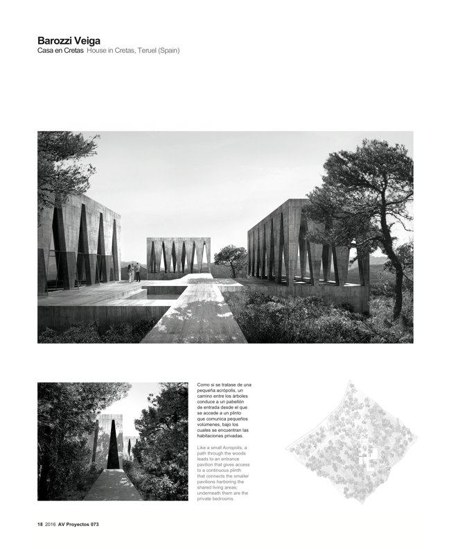 AV Proyectos 073 Dossier Barozzi Veiga - Preview 4