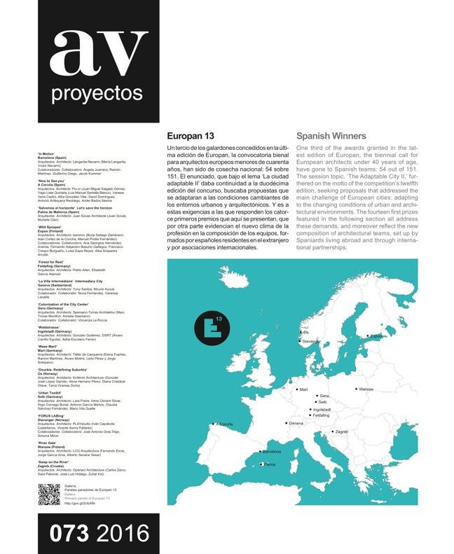 AV Proyectos 073 Dossier Barozzi Veiga - Preview 5