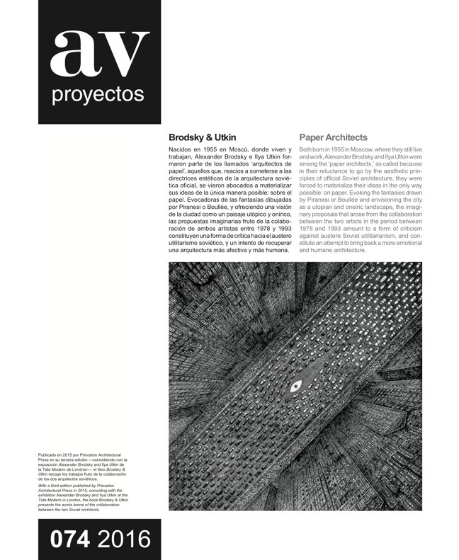AV Proyectos 74 Dossier BIG - Preview 16