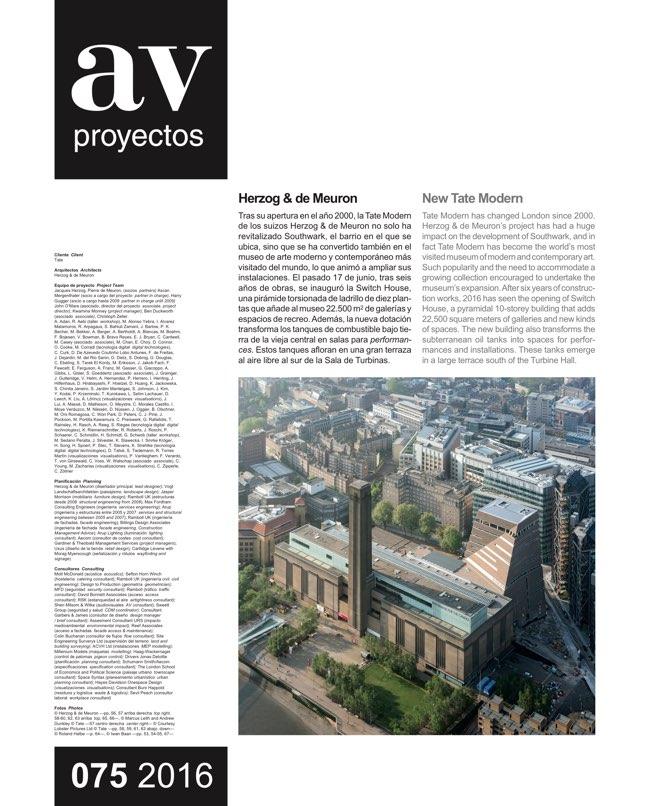AV Proyectos 75 Dossier Estudio Herreros - Preview 11