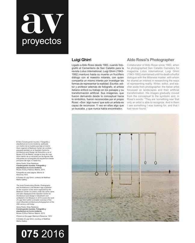AV Proyectos 75 Dossier Estudio Herreros - Preview 16