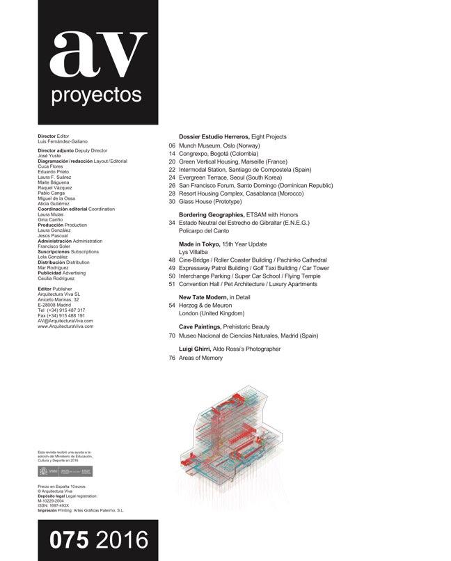 AV Proyectos 75 Dossier Estudio Herreros - Preview 1