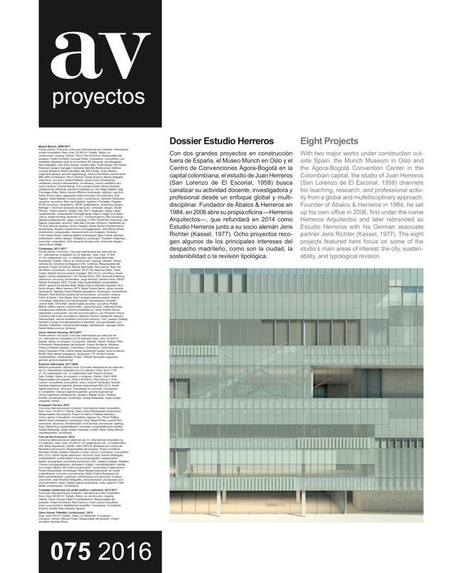 AV Proyectos 75 Dossier Estudio Herreros - Preview 2