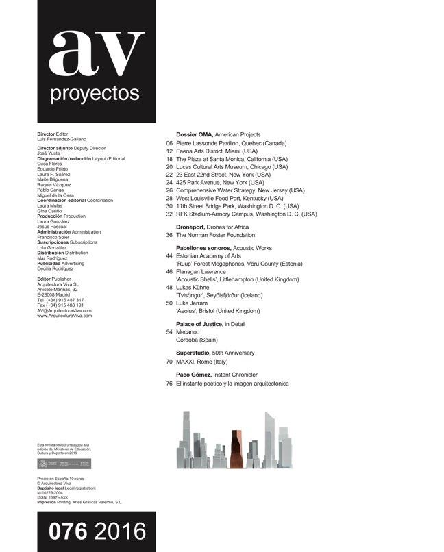 AV Proyectos 76 OMA - Preview 1