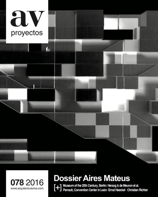 AV Proyectos 78 Dossier Aires Mateus